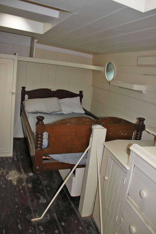 The Captain's Bunk on the Morgan