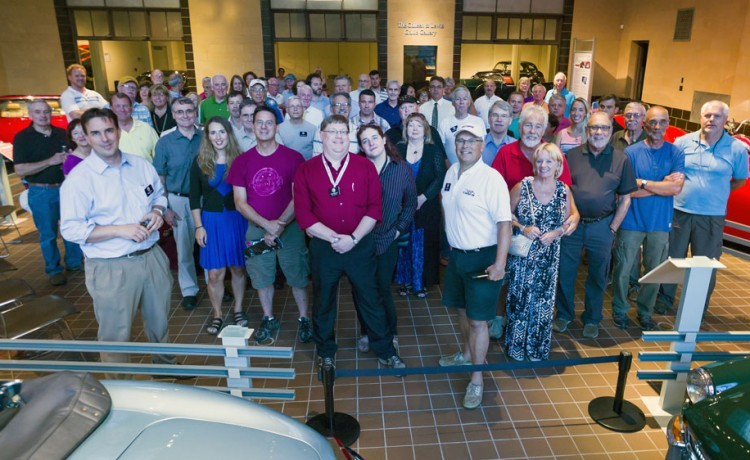 August Business Meeting Draws Large Crowd