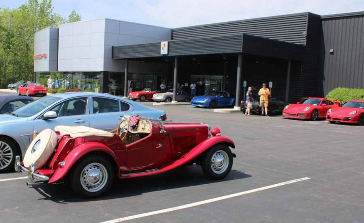 A Feast for the Eyes at New Country's May Cars and Coffee