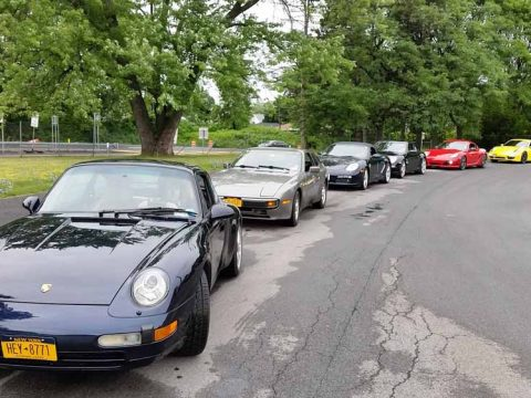 Threat of Rain Doesn't Deter Autocross Drivers