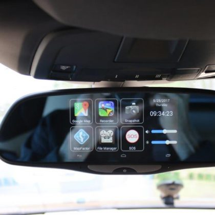 New gadgets from a rearview perspective