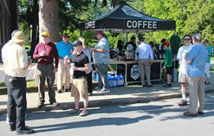 Brewtus Coffee Tent