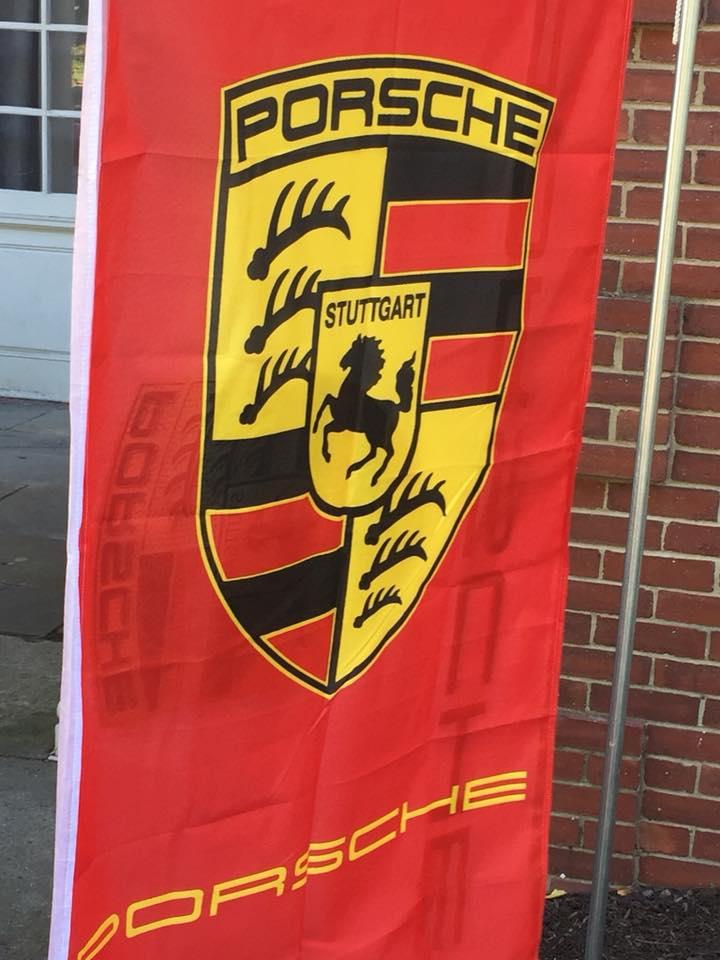 Porsche flag